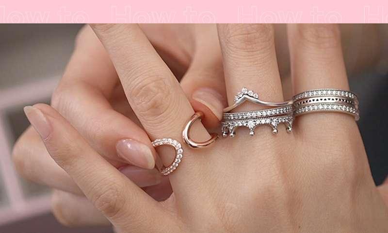 Pronađite svoj stil u kombinovanju prstenja