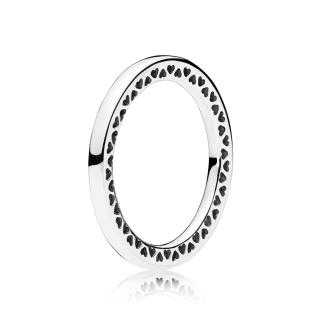 Klasični prsten PANDORA srca