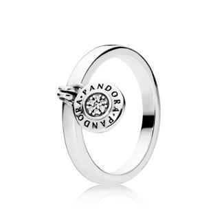 Pandora logo katanac prsten