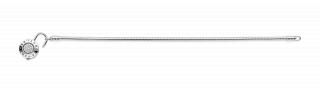 Moments glatka srebrna narukvica sa PANDORA logom