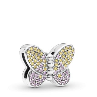 Privezak Svetlucavi leptir
