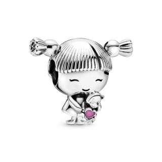 Privezak Devojčica sa kikicama