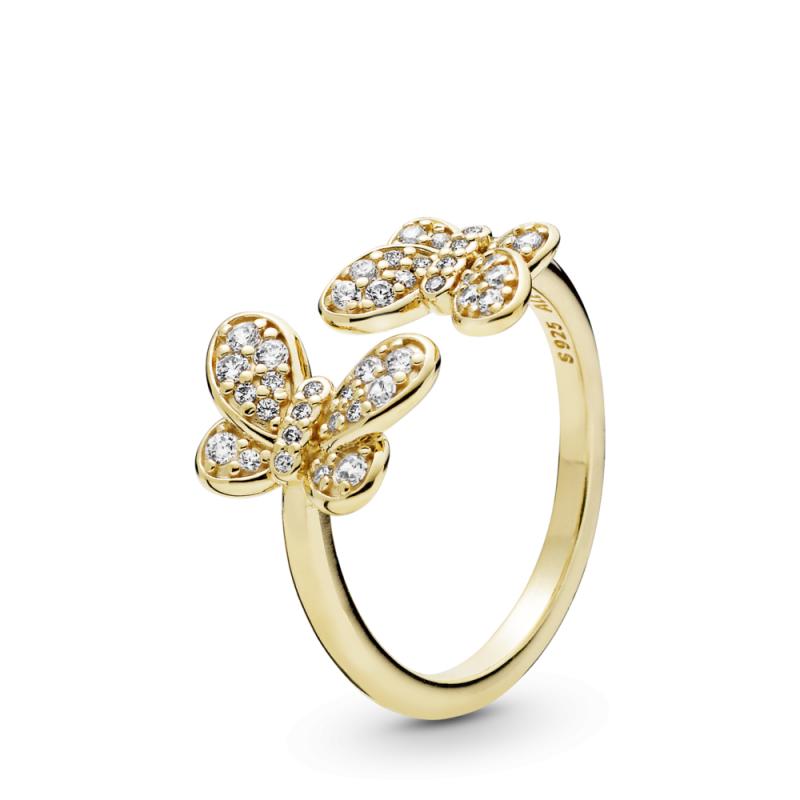 Prsten Svetlucavi leptiri