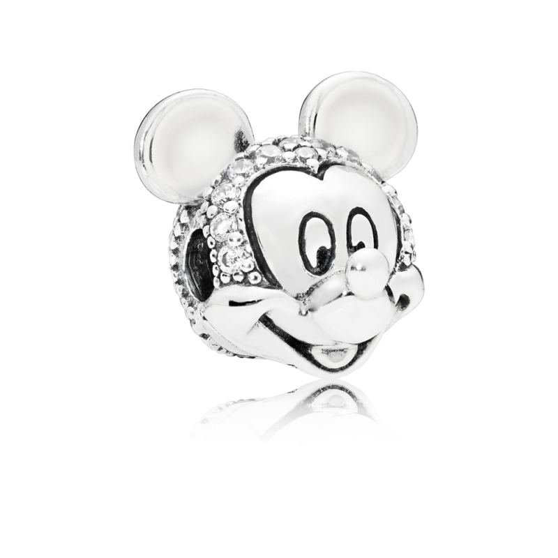 Privezak Disney, Svetlucavi Mickey portret