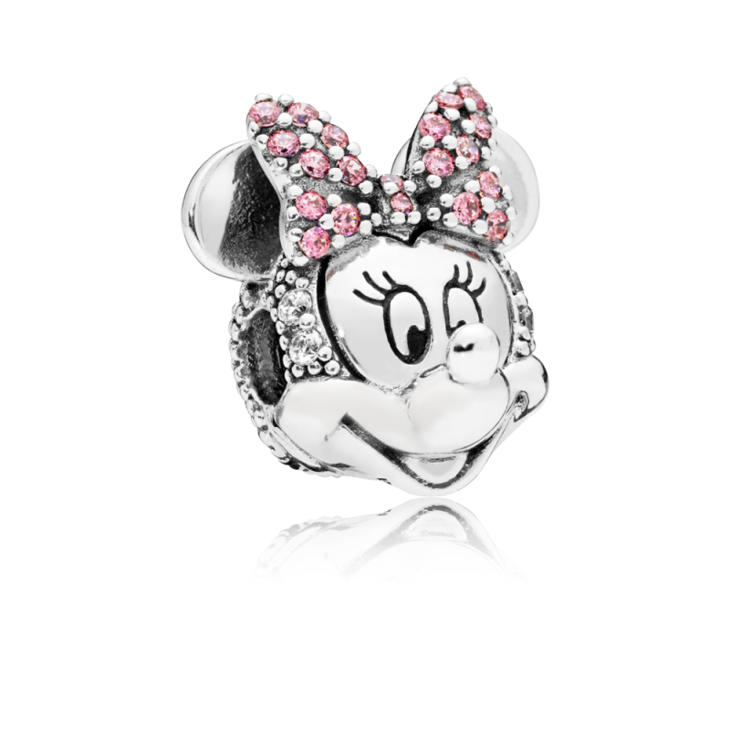 Privezak Disney, Svetlucavi Minnie portret