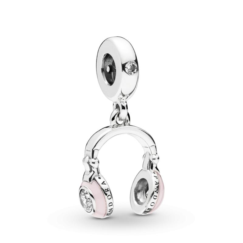 Viseći privezak Roze slušalice