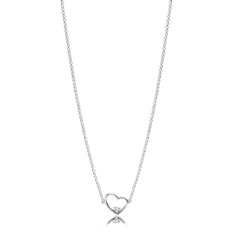 Ogrlica Asimetrično srce ljubavi