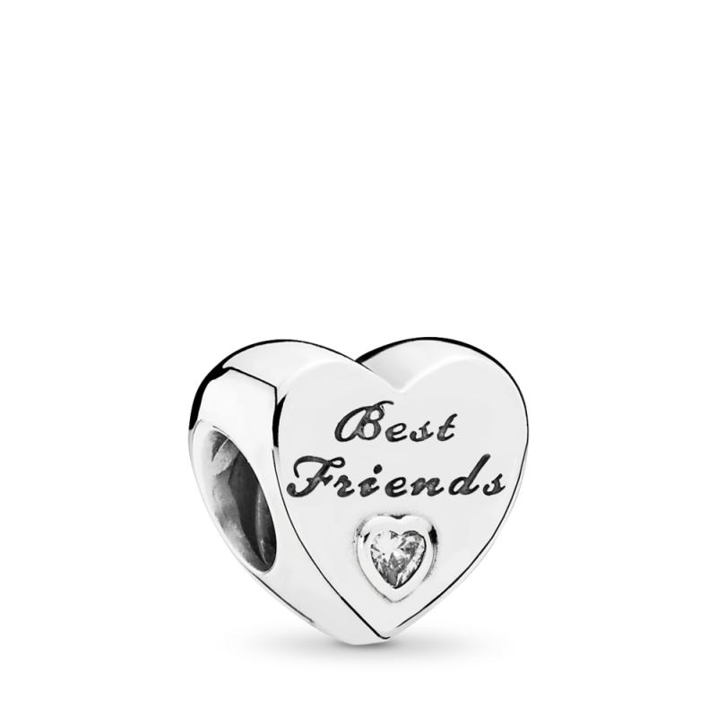 Privezak Srce prijateljstva