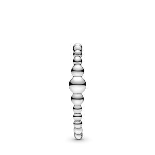 Jedna minđuša za ušnu školjku sa nizom perlica