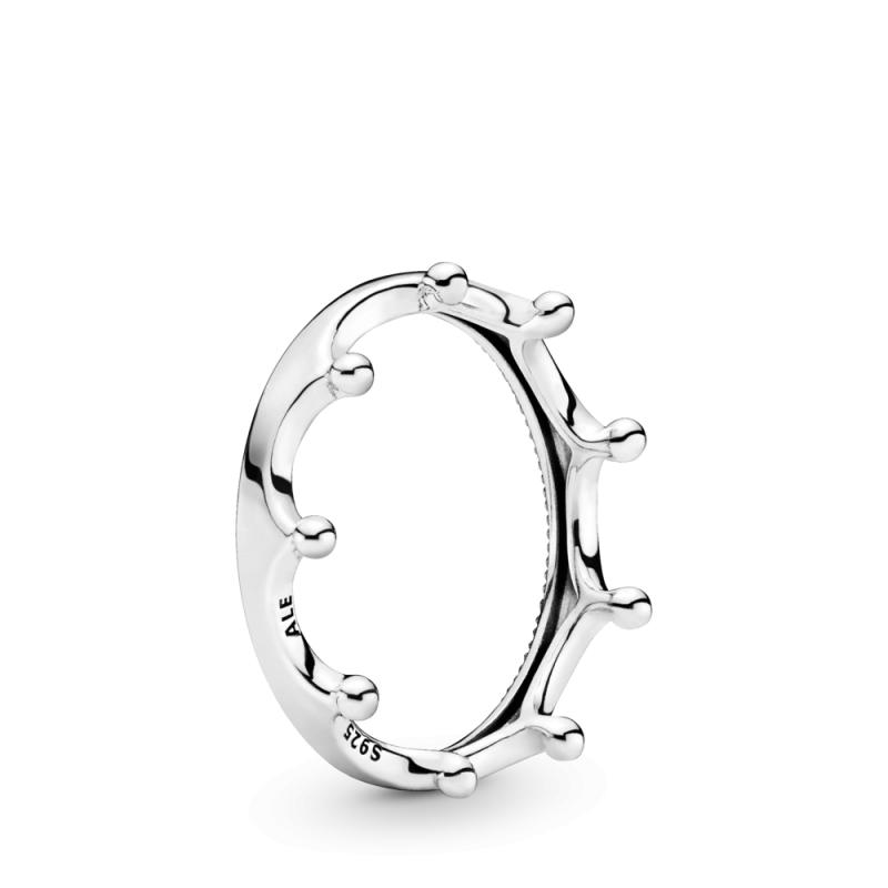 Polirani prsten sa krunom