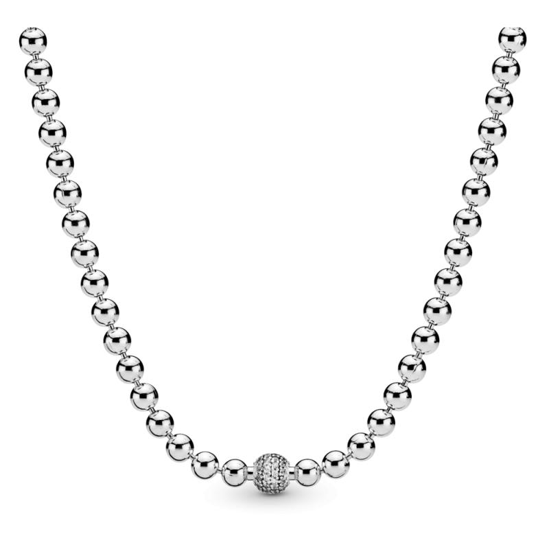 Ogrlica Perle i pavé