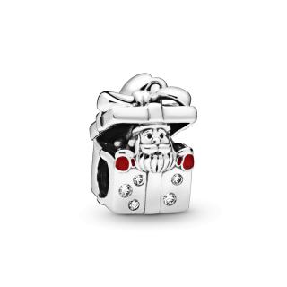 Privezak Deda Mraz u kutijici