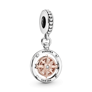 Privezak Pandora Klub 2020 u obliku kompasa