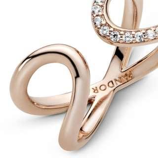 Otvoren prsten Obmotan simbol za beskonačnost
