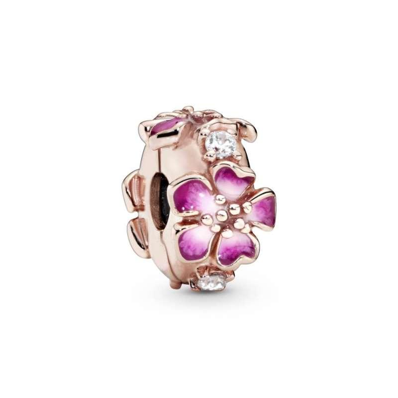 Privezak Ružičasti cvet breskve