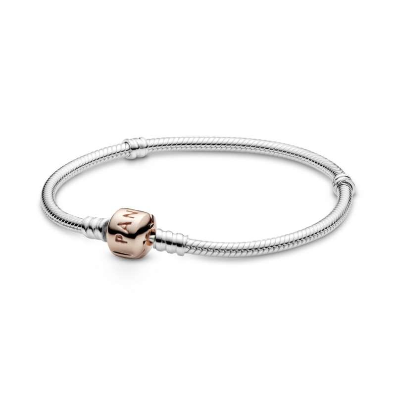 Narukvica od srebra sa Pandora Rose kopčom