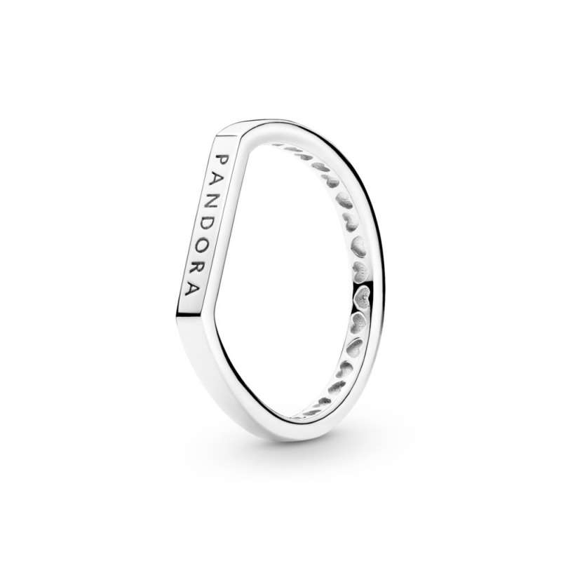 Prsten za nizanje sa logom i pločicom