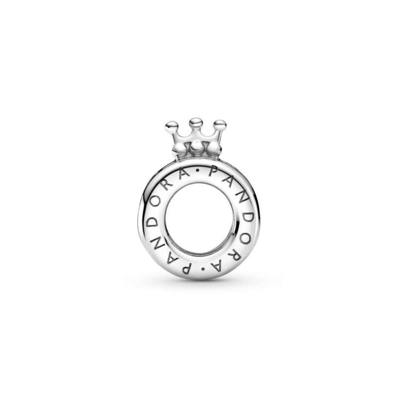 Privezak Pandora logo i Pandora O kruna