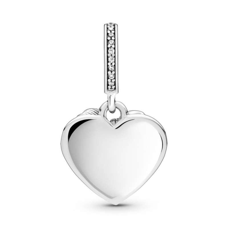 Viseći privezak Mašna i ljubavno srce