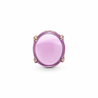 Privezak Roze ovalni kabošon