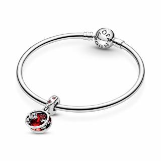 Viseći privezak Disney Mickey & Minnie Mouse ljubav i poljupci