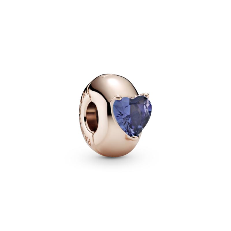 Privezak Plavo srce