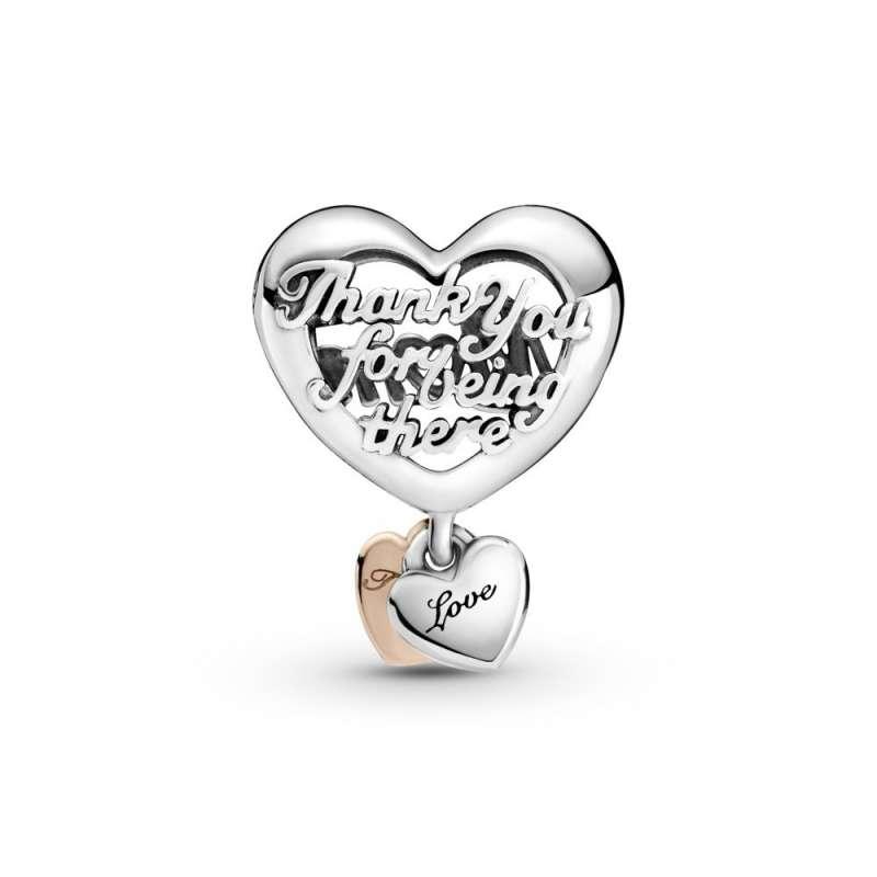 "Privezak u obliku srca ""Thank You Mum"""