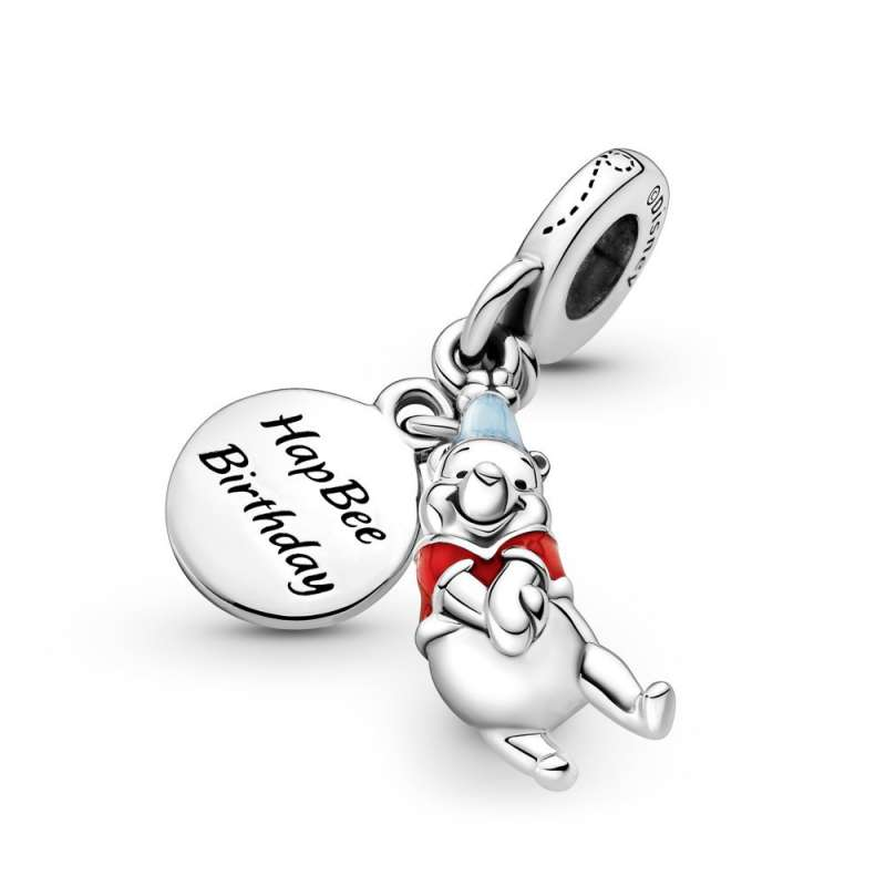 Viseći privezak Disney Winnie the Pooh rođendan