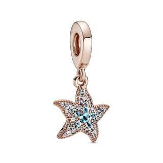 Viseći privezak Svetlucava morska zvezda