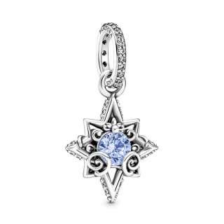 Privezak za ogrlicu Disney Cinderella plava zvezda