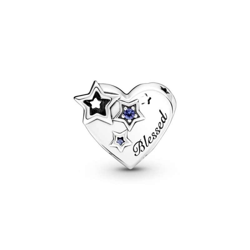 Privezak Srce i zvezde zahvalnosti