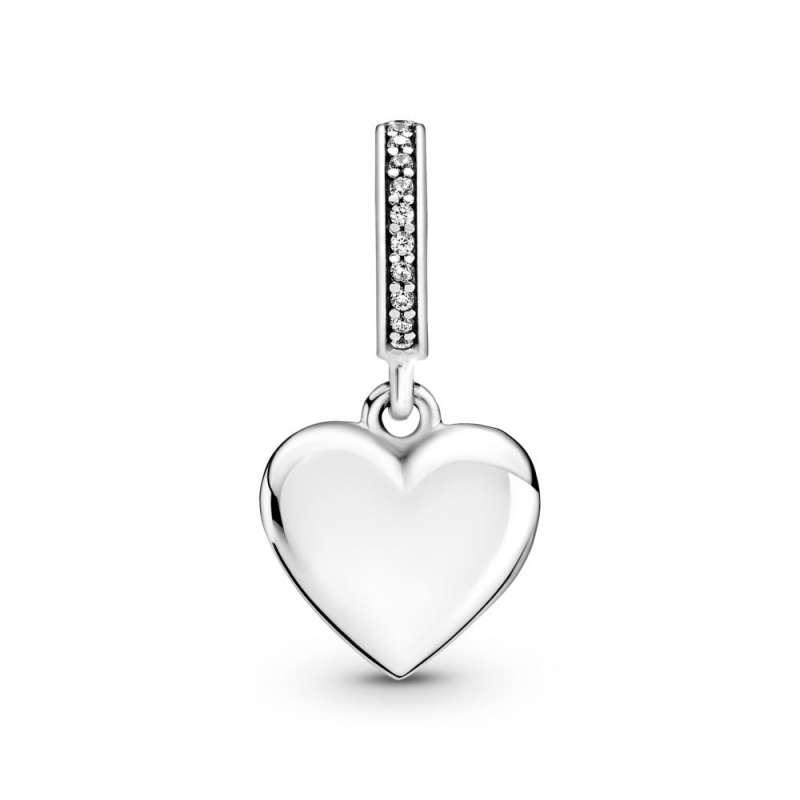 Viseći privezak Medaljon u obliku srca