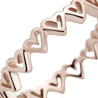 Prsten Pandora Rose Nacrtana srca