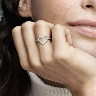 Prsten Polirano otvoreno srce