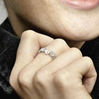 Prsten Svetlucava kruna od belih rada