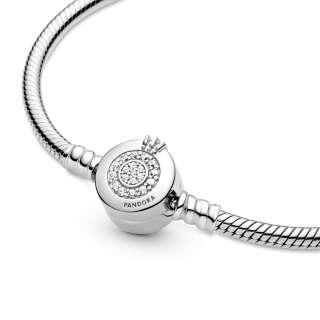 Narukvica sa svetlucavim znakom Pandora O kruna