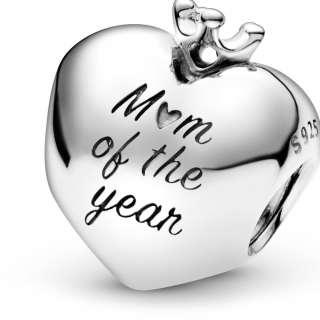 Privezak u obliku srca Mum Of The Year
