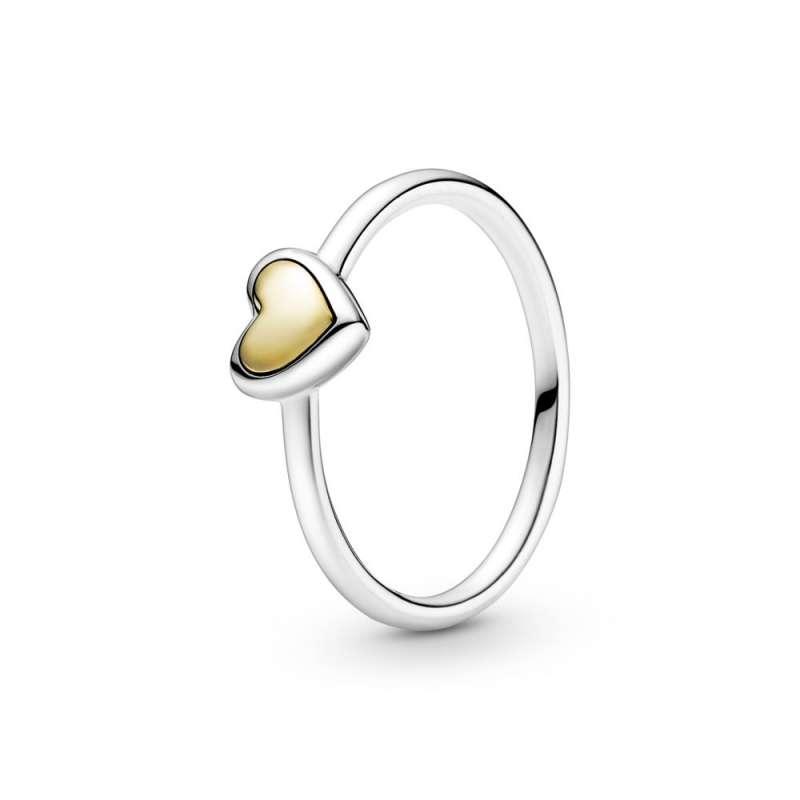 Prsten Kupolasto zlatno srce