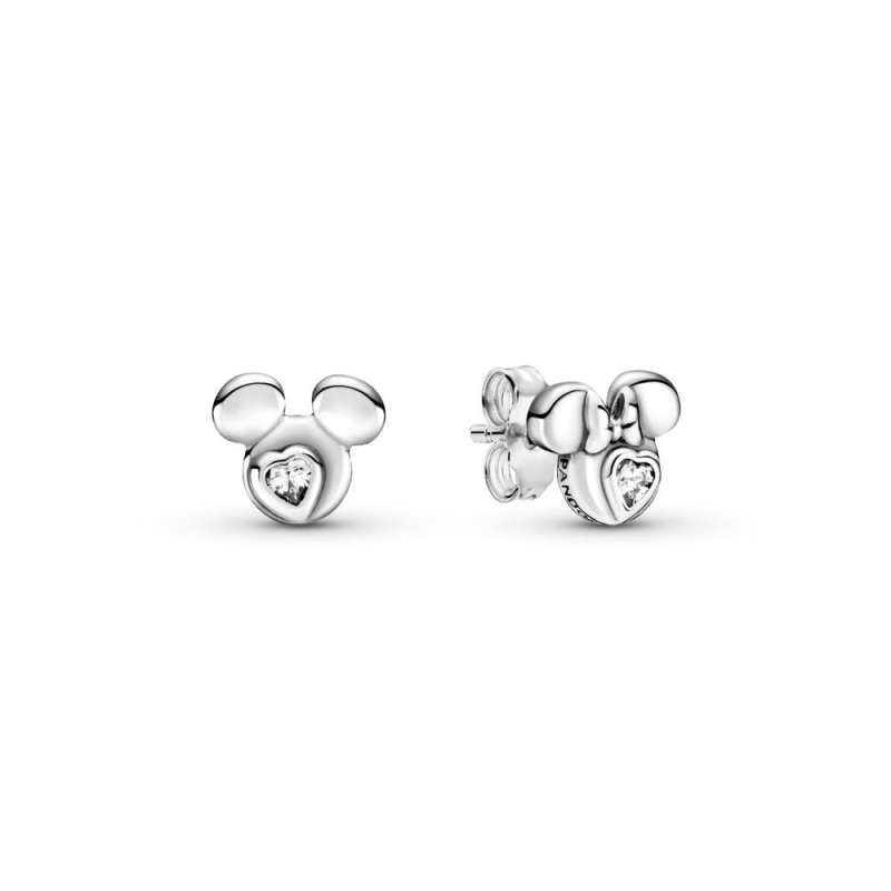 Minđuše Disney, Mickey & Minnie Mouse siluete