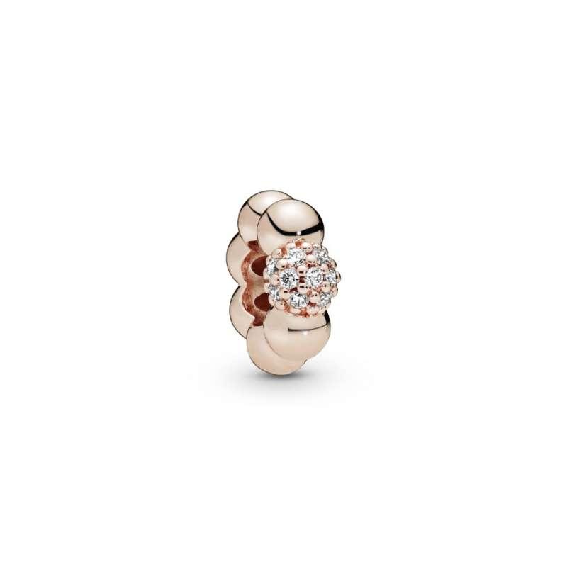 Razdvojnik sa roze pavé kamenčićima