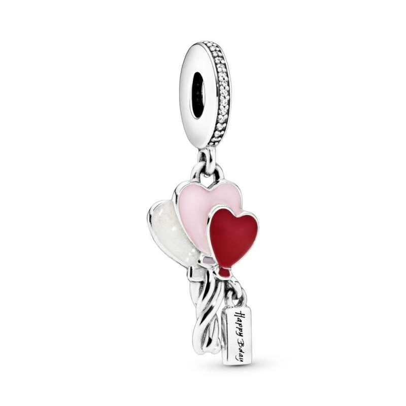 Viseći privezak Baloni u obliku srca