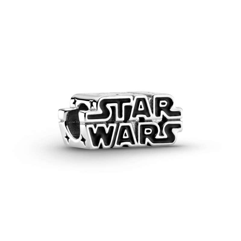 Privezak Srebrni Star Wars 3D logo